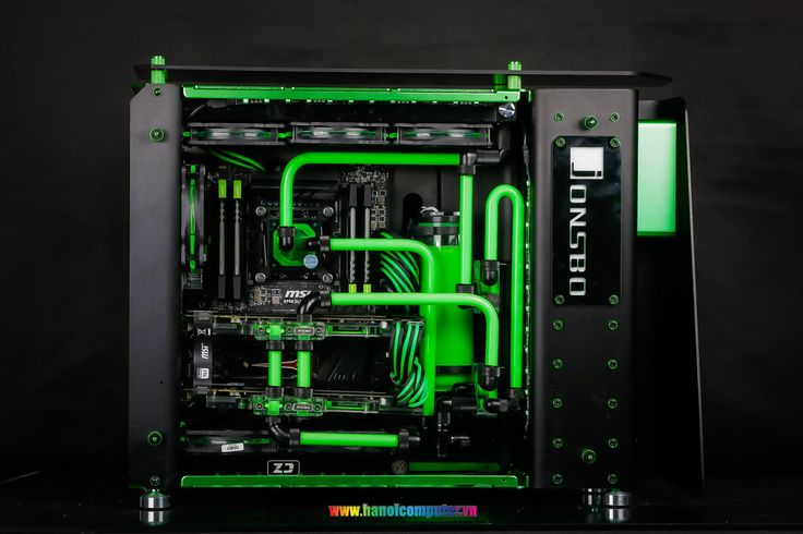 Case Mod Friday: Green Lantern | Computer Hardware Reviews - ThinkComputers.org