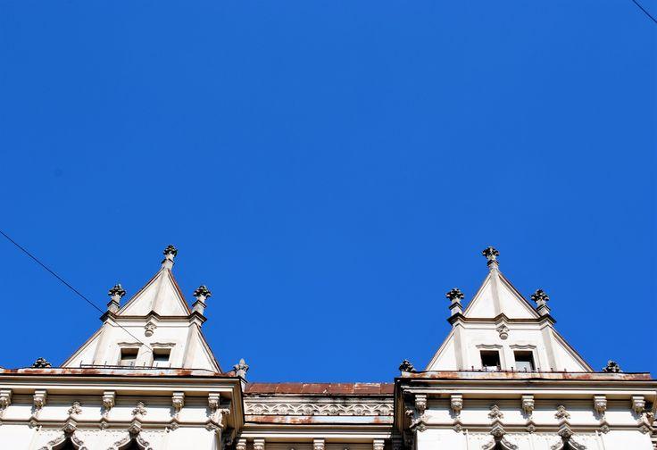 #minimalism #roof #Lviv #blue