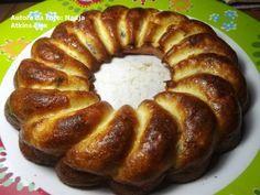Receitas e Idéias Práticas para Dieta Atkins: Receitas Salgadas: Massas e Quiches - Rosca de bacon e queijo para indução