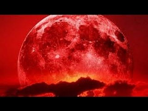 4th Lunar Eclipse Blood Moon of Four Blood Moons Tetrad September 28th 2015 Breaking News - YouTube