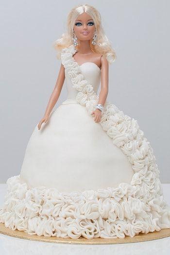 Une robe de mariée à déguster