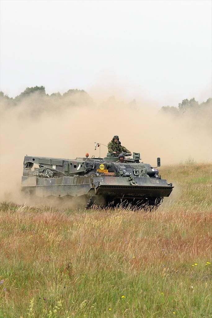 Leopard 2-bergingstank (Buffel) | Koninklijke Landmacht | Defensie.nl