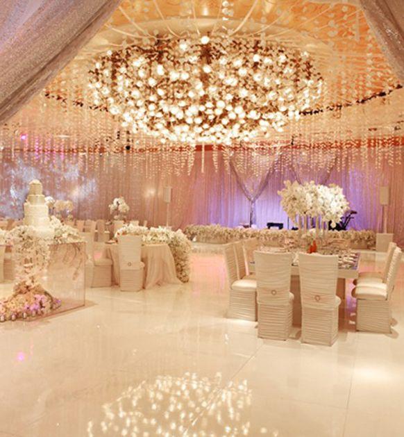 2014 Spring luxury wedding reception table decorations