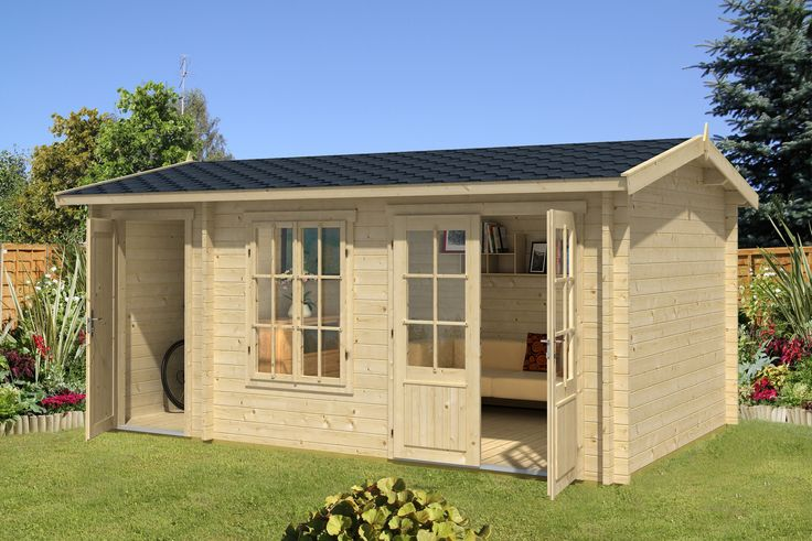 Log Cabins for Sale - Cabins Unlimited - Wrexham 2 - 4.85m x 3.0m - 44mm Log Cabin - Under 2.5m, £3,180.00 (http://www.cabinsunlimited.co.uk/wrexham-2-4-85m-x-3-0m-44mm-log-cabin-under-2-5m/)