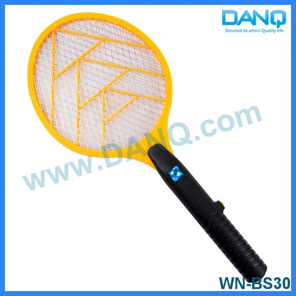 Three layers insect killer, bug zapper, mosquito swatter, mosquito racket with CE-EMC