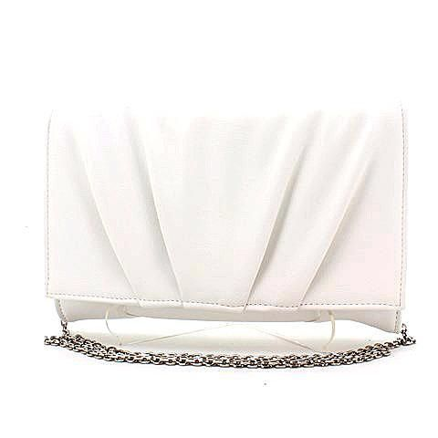 CALYPSO clutch in white. #mybetsonBetts #BettsRaceDayReady #BettsShoes
