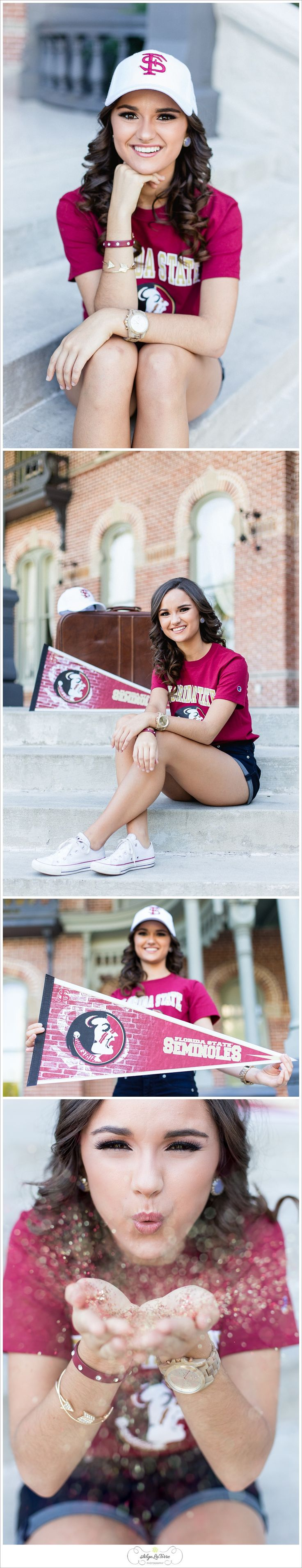 Great idea for a college reveal picture, college announcement, Senior girl ideas, what to wear senior pictures, senior girl photo,Tampa Senior Photographer | © Ailyn La Torre Photography 2014