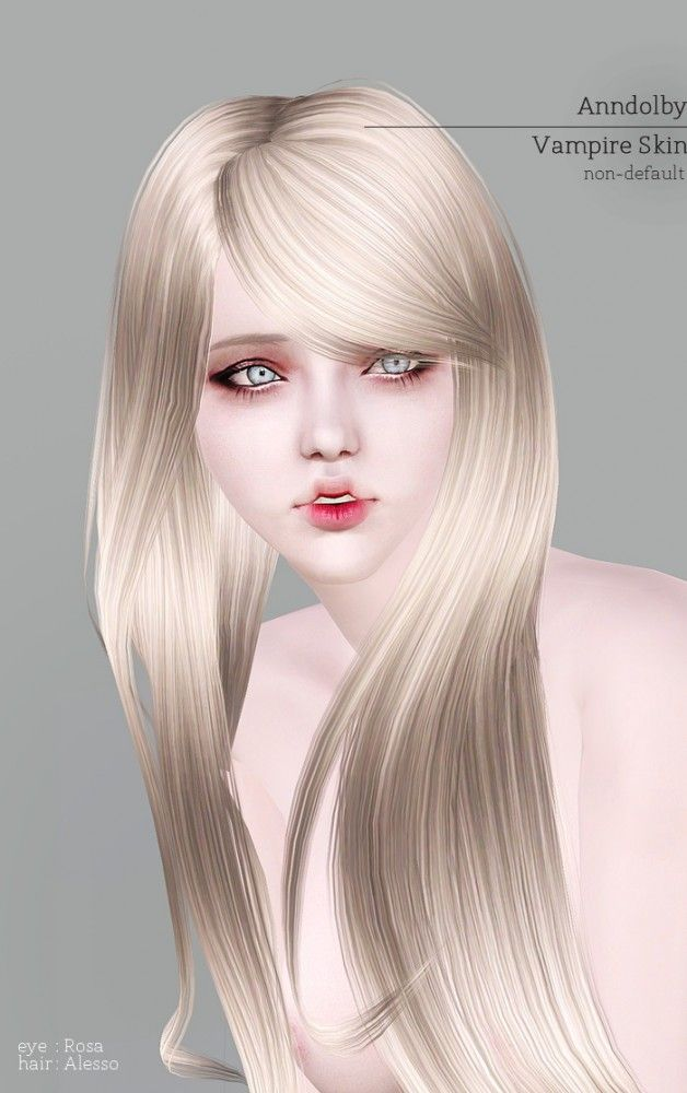 Vampire skin by Anndolby - Sims 3 Downloads CC Caboodle