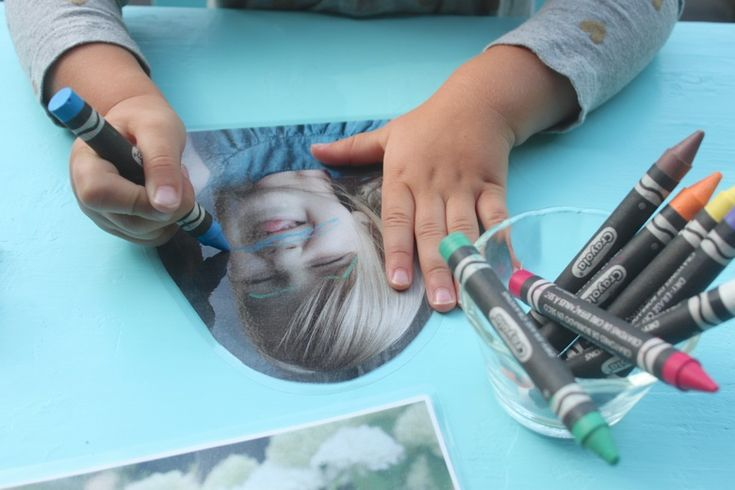 Quiet Play with Funny face photo drawings that can be erased and used again