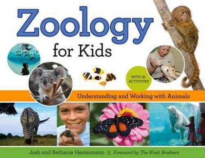 Zoology for Kids invites the next generation of zoologists to discover the animal kingdom through clear, entertaining information and anecdotes, lush color photos, hands-on activities, and peer-reviewed research. Young minds are introduced to zoology as a science by discussing animals' forms, functions, and behaviors as well as the history behind zoos and aquariums. Related activities include baking edible animal cells, playing a dolphin-echolocation game, and practicing designing an…