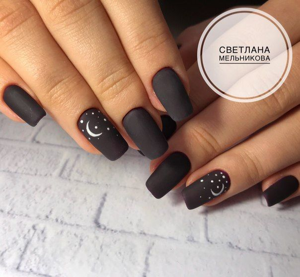 Pin By Ns Responsive On Nails In 2020 Star Nail Designs Star Nails Witchy Nails