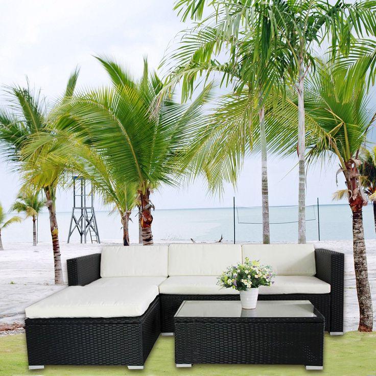 Loungemobel Garten Grau. Die Besten 25+ Gartengarnitur Rattan