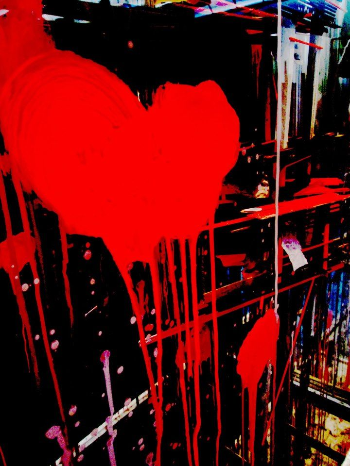 Fotografie. Heart. Love. Abstract