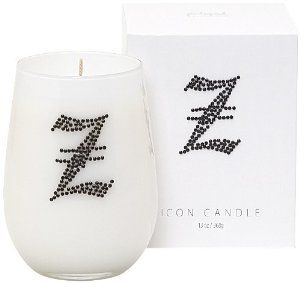 "Letter ""Z"" Fragrant Monogram Stemless Wine Glass Candle by Universal Lighting and Decor. $24.00. This monogrammed stemless wine glass candle is a great way to bring a bit of flair to your home decor. A hand-poured blackberry amber scented candle rests within white glass hand-embellished with jet black rhinestones in the shape of a stylish letter ""Z"". The design comes in a matching gift box that you can use to store your stemless wine glass after the wax has run out.. Save 40%!"