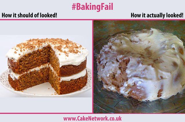 Carrot Cake Fail!