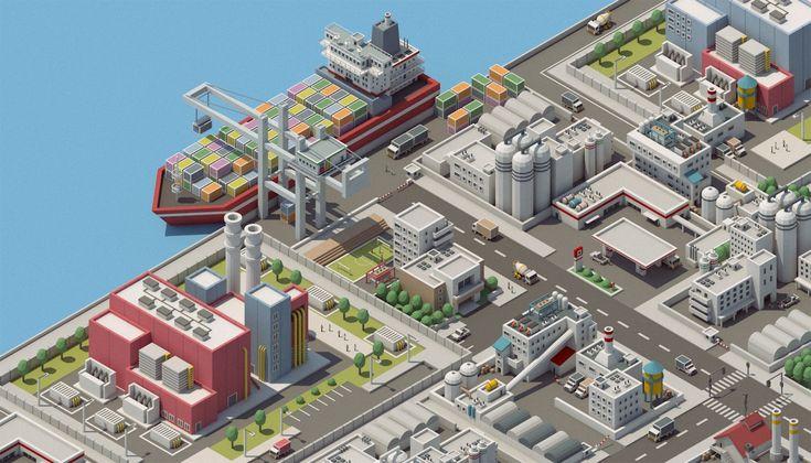 Mini City 2 on Behance
