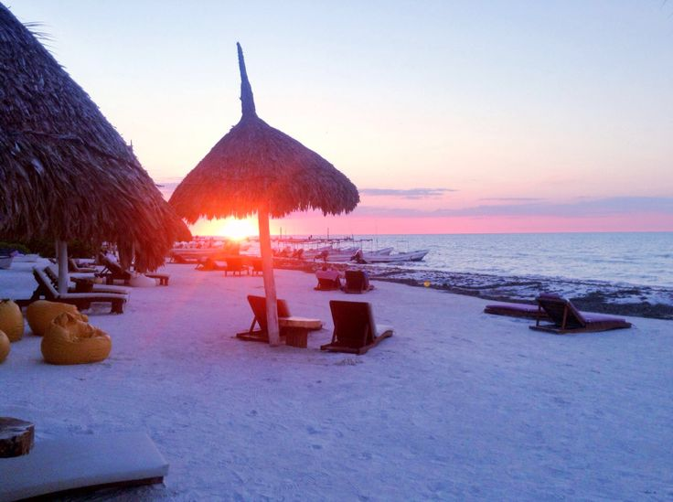 Sunset Isla Holbox.