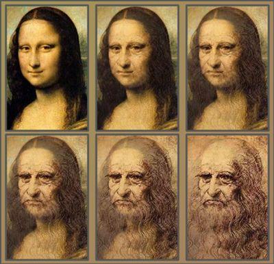 Monalisa -> Leonardo da Vinci - Good for morphing example & discussion