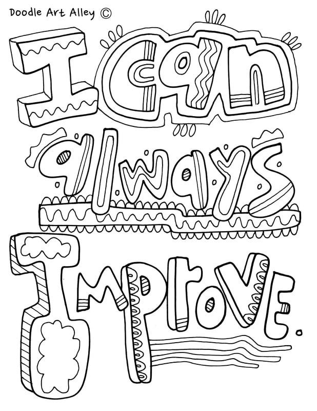 Picturepicture Quote Coloring Pages Color Quotes Coloring Pages