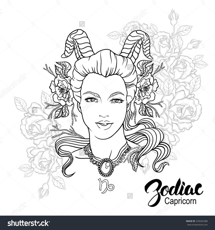 astrological signs coloring pages - photo#30