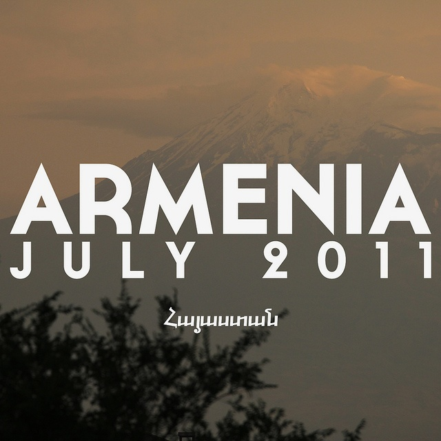 Armenia July 2011 flickr set