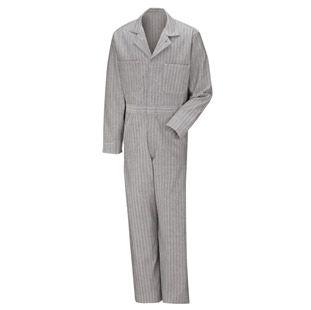 Men's Snap Front Cotton Coveralls - 5 color choices CC14