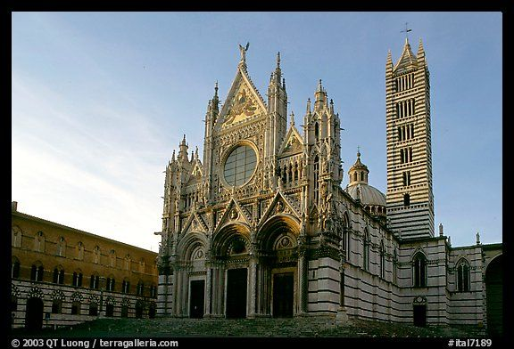 Siena Cathedral (Duomo) in Siena, Tuscany, Italy