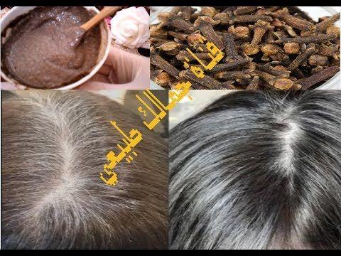 ملعقة قرنفل تخترق فروة الراس وتعالج الشيب نهائيا بدون صبغه وتحصلي على شعر حريري بدون شيب Youtu Henna Hair Dyes Hair Remedies For Growth Remedy For White Hair