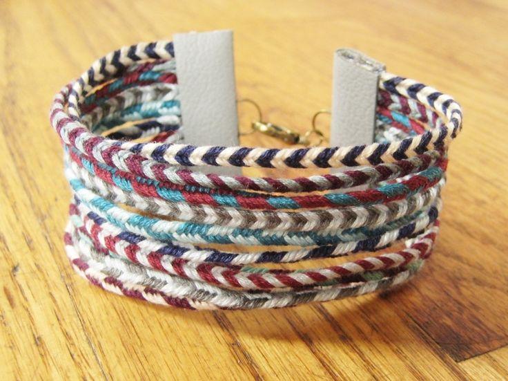 Make This - Summer CampBracelet - Luxe DIY - How Did You Make This?: Diy Summer Bracelets, Camp Crafts, Summer Campbracelet, Luxe Diy, Diy Jewelry, Kids Crafts, Camps Crafts, Summer Camps Bracelets, Friendship Bracelets