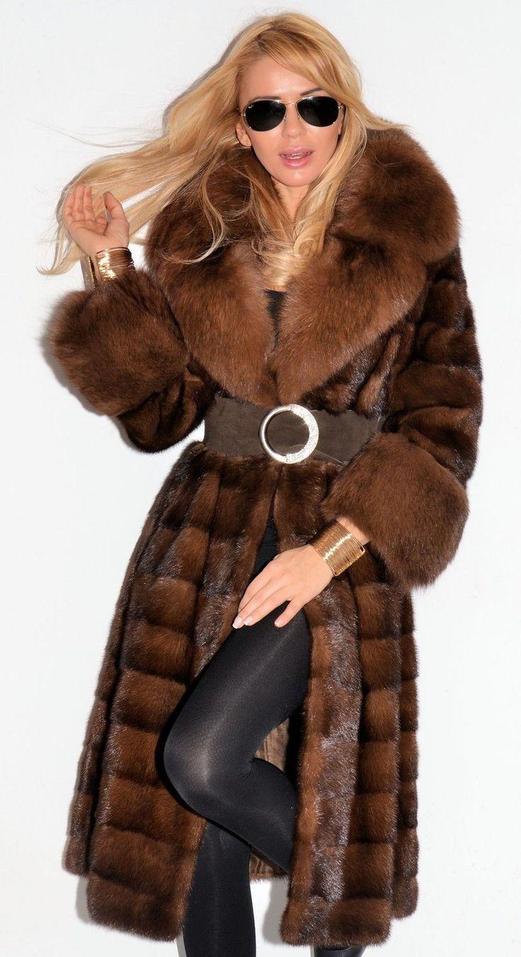 Fur coat fetish pics