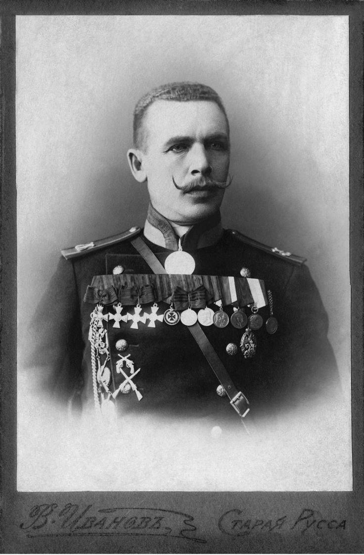 Подпрапорщик Игнатий Семёнович Шакура. 1914 г