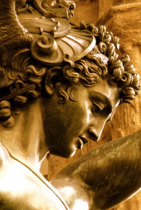 Benvenuto Cellini (1500-1571)  Perseus with the Head of Medusa  - Bronze - Florence