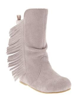 Fringe boots | Gap: Baby Kids Apparel, Baby Gap