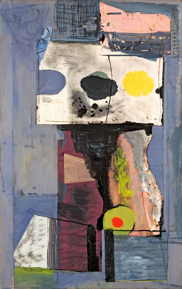 Robert Motherwell –  Autoportrait, 1943