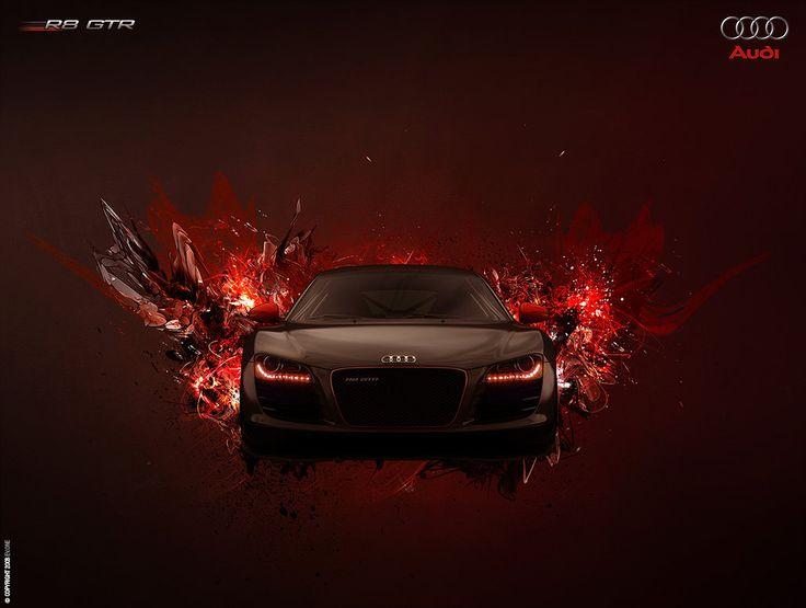 Audi R8 GTR Poster by ~ev-one on deviantART