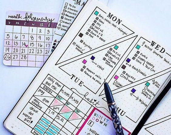 Lập Kế Hoạch Cá Nhân | Cách Sử Dụng Sổ Tay Planner