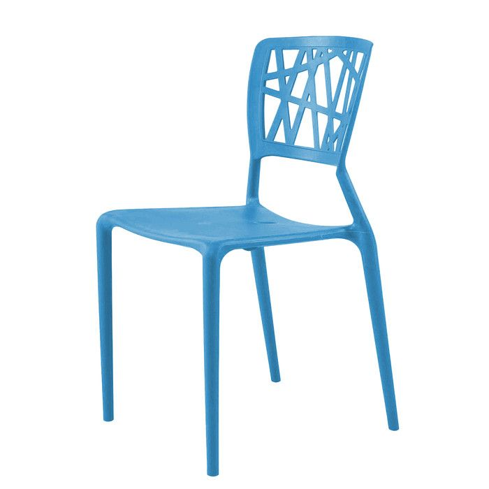 You'll love the Bette Stacking Dining Side Chair at AllModern - With Great Deals on modern Outdoor  products and Free Shipping on most stuff, even the big stuff.