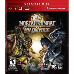 Mortal Kombat vs. DC Universe --- http://www.amazon.com/Mortal-Kombat-vs-Universe-Playstation-3/dp/B0017ZIIK6/?tag=mywelost0e-20