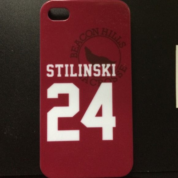 Teen Wolf IPhone 4 case BHHS lacrosse case -STILINSKI 24- **price negotiable** Accessories Phone Cases