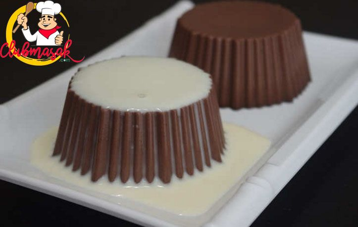 Resep Puding Coklat Susu Saus Vla Vanila, Resep Vla Susu Tanpa Telur