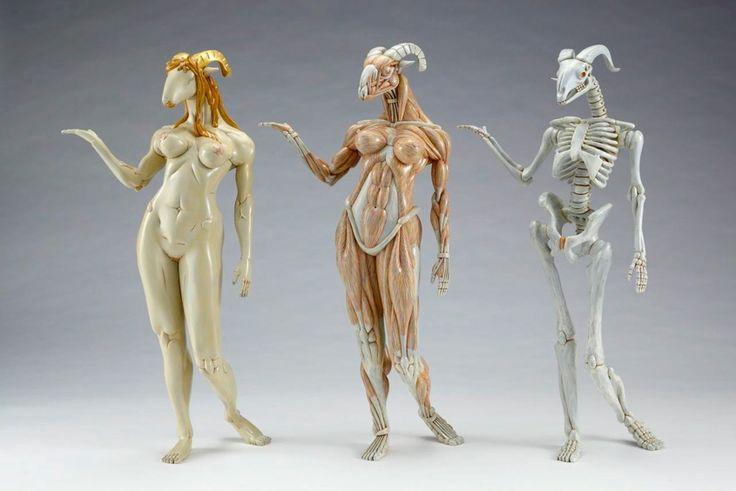 Maenad muscle by Masao Kinoshita