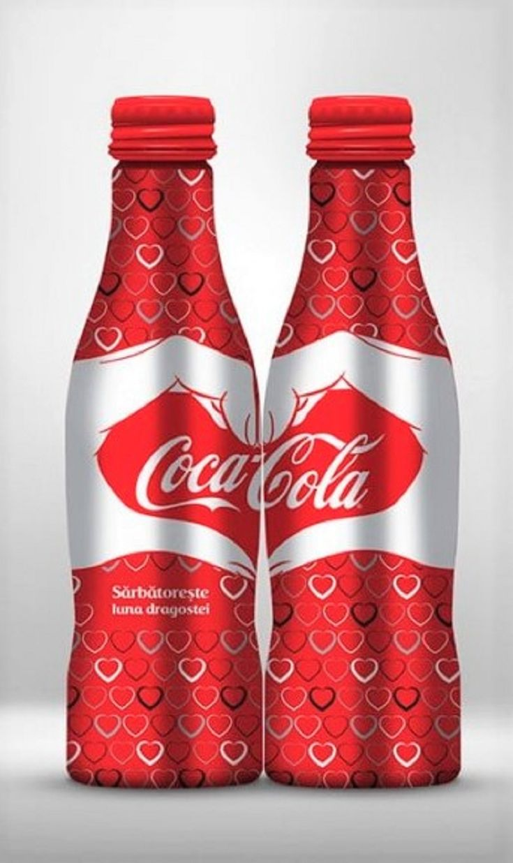 Special Valentine's Day Packaging for Coca-Cola
