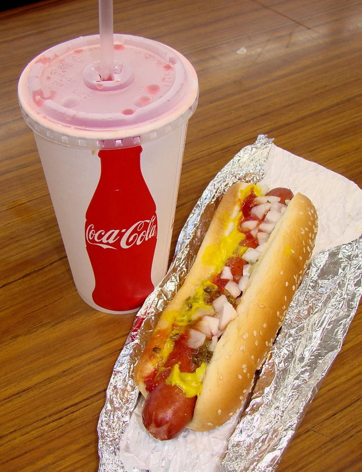 The BEST DEAL, $1.50 Hot Dog and Drink at Costco.