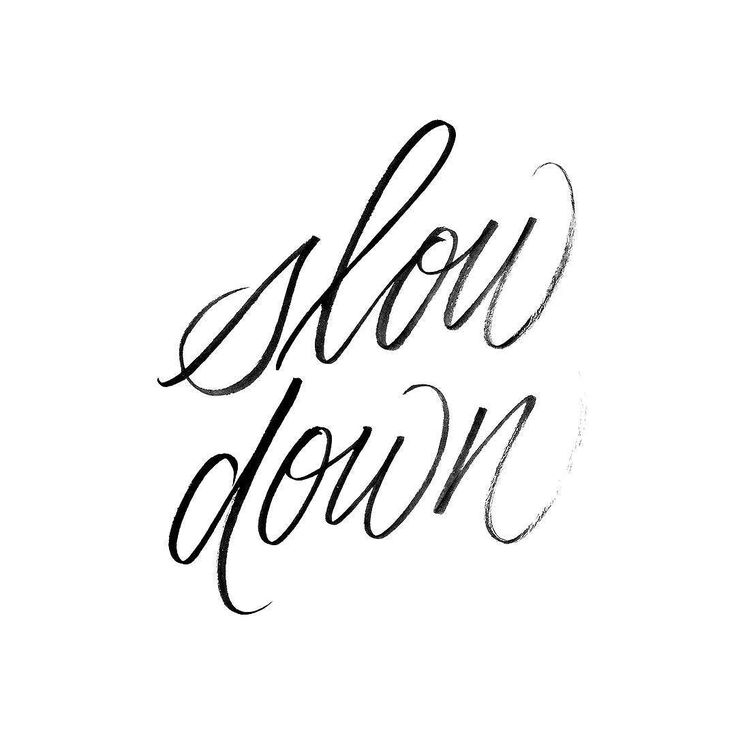 Just a small reminder to myself: slow down. Even just a little bit. #typeandgraphicslab