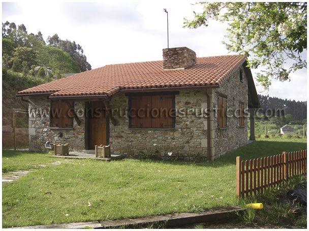 Construcciones Rústicas Gallegas - Casas rústicas de piedra - Diseños - Mera