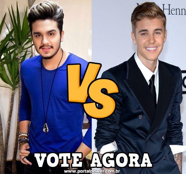 Quem tem mais fãs no Brasil ? Luan Santana ou Justin Bieber ? , veja mais de Luan Santana vs Justin Bieber quem tem mais fãs no Brasil ?