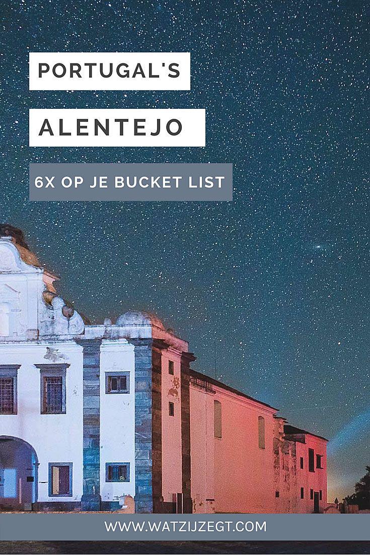 Alentejo in Portugal: 6x op je bucket list