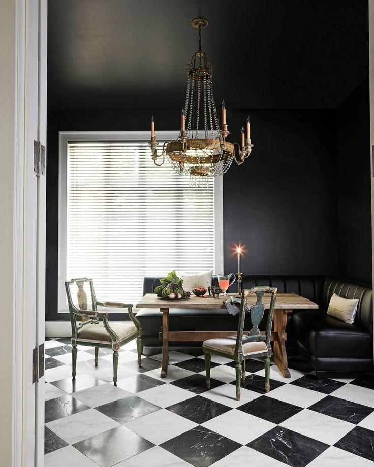 An italian chandelier hangs in this room
