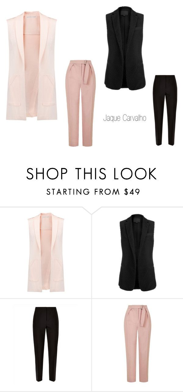 """jaque"" by jaqueline-carvalho-do-amaral on Polyvore featuring Rebecca Minkoff, Alexander Wang, Jaeger e Topshop"