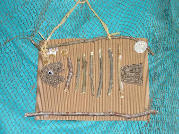 poisson récup bois